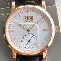 A. Lange & Söhne Red gold Silver 37mm pre-owned Langematik