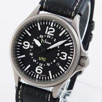 Sinn 856 / 857 Steel 40mm Black Arabic numerals
