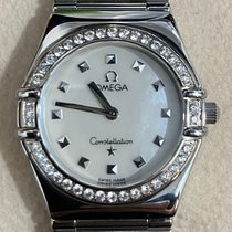 Omega Constellation Steel 26mm Mother of pearl Singapore