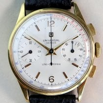 Universal Genève Yellow gold 35mm Manual winding 12445 pre-owned