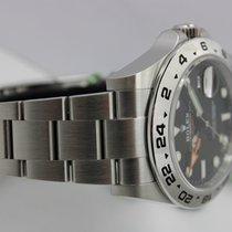 Rolex Explorer II Staal 42mm Zwart Geen cijfers Nederland, Rijnsburg