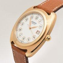 Hermès Dressage Złoto różowe 40mm