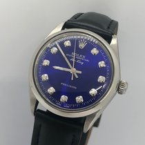 Rolex Steel 34mm Blue No numerals United States of America, New York, New York, Miami Office
