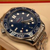 Omega Seamaster Diver 300 M Acciaio 42mm Blu Senza numeri Italia, Arezzo