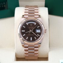 Rolex Day-Date 40 Rose gold 40mm Brown United States of America, California, Los Angeles