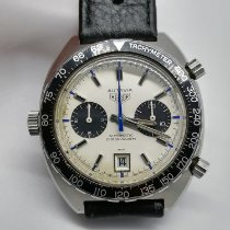 Heuer Steel 42mm Automatic 1163 pre-owned