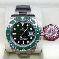 Rolex Submariner Date Acciaio 40mm Verde Senza numeri Italia, subiaco