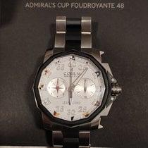 Corum Admiral's Cup Leap Second 48 Titanio 48mm Blanco Romanos