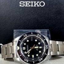 Seiko Prospex Steel Green No numerals