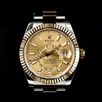 Rolex Sky-Dweller 326933 Nieuw Goud/Staal 42mm Automatisch Nederland, Zoetermeer