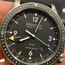 Bremont Boeing Titane 45mm Noir Arabes