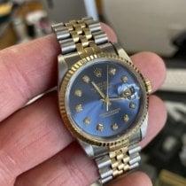 Rolex Datejust Gold/Steel 36mm Blue United States of America, Texas, Hurst
