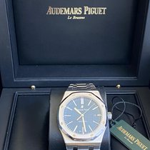 Audemars Piguet Royal Oak Selfwinding Steel 41mm Blue No numerals Australia