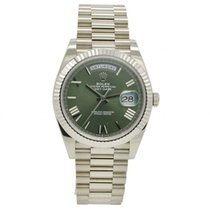 Rolex 228239 Oro blanco 2020 Day-Date 40 40mm usados