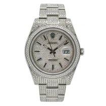 Rolex Datejust II neu 2016 Automatik Uhr mit Original-Box und Original-Papieren 116300