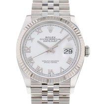 Rolex (ロレックス) Datejust 新品 2021 自動巻き 正規のボックスと正規の書類付属の時計 126234