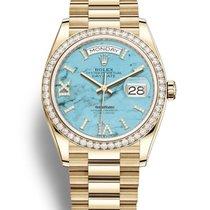 勞力士 Day-Date 新的 自動發條 附正版包裝盒和原版文件的手錶 128348RBR