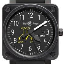 Bell & Ross BR 01-97 Réserve de Marche Steel Black
