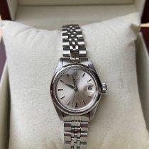 Rolex Oyster Perpetual Lady Date Stahl 26mm Silber Keine Ziffern Deutschland, Esslingen