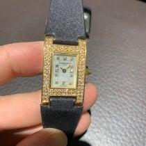 Chaumet new Quartz Yellow gold Sapphire crystal