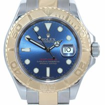 Rolex Yacht-Master Gold/Steel 40mm Blue United States of America, New York, Huntington