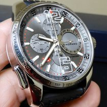 Chopard Mille Miglia pre-owned 44mm Grey Chronograph Rubber
