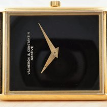 Vacheron Constantin Yellow gold Manual winding Black 23mm pre-owned
