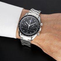 Omega Speedmaster Professional Moonwatch Moonphase Acciaio 42mm Nero Senza numeri Italia, Cascina  (PI)