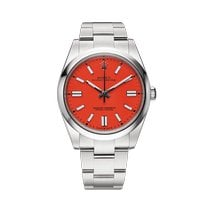 Rolex Oyster Perpetual Steel 41mm Red United States of America, New York, New York