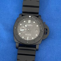 Panerai Luminor Submersible Carbon 47mm Black No numerals UAE, Dubai