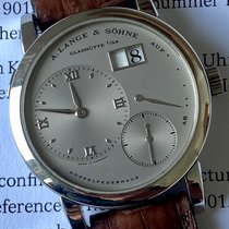 A. Lange & Söhne Lange 1 Platinum 38.5mm Silver Roman numerals United States of America, Georgia, Johns Creek