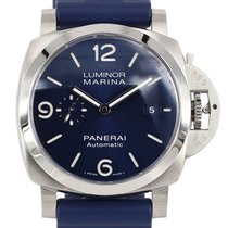 Panerai Luminor Marina Stål 44mm Blå Arabiska