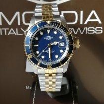 Mondia MI-786-SOBL-BL-GB 全新 鋼 42mm 自動發條