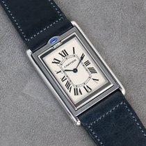 Cartier Tank (submodel) 2390 Meget god Stål 25mm Manuelt