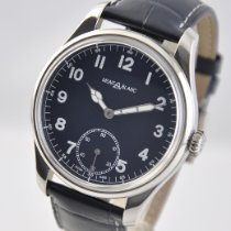 Montblanc 1858 Steel 44mm Blue Arabic numerals United States of America, Ohio, Mason