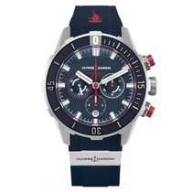 Ulysse Nardin new Automatic Central seconds 44mm Titanium Sapphire crystal