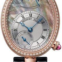 Breguet 8908br/5t/964/d00d3L Or rose 2021 Reine de Naples 28.5mm nouveau