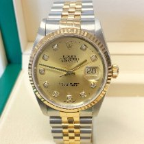 Rolex 16233 Gold/Steel 2002 Datejust 36mm pre-owned United Kingdom, Wilmslow