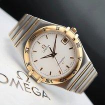 Omega 1212.10.00 Goud/Staal 1997 Constellation tweedehands