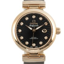Omega De Ville Ladymatic Or jaune 34mm Noir