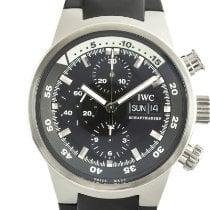 IWC Aquatimer Chronograph Acero 42mm Negro