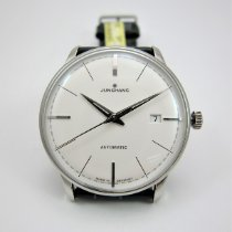 Junghans Meister Classic Acero 38.4mm Plata Sin cifras