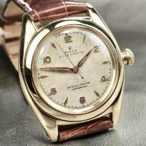 Rolex Rose gold Automatic 32.2 mmmm pre-owned Bubble Back