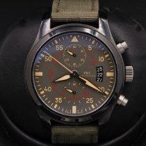 IWC Pilot Chronograph Top Gun Miramar Керамика 46mm Зеленый