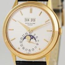 Patek Philippe 3448J Yellow gold 1981 Perpetual Calendar 37mm pre-owned