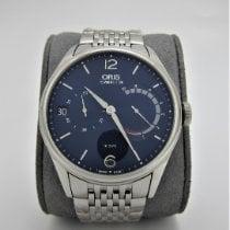 Oris Artelier Calibre 111 Steel 43mm Blue Arabic numerals