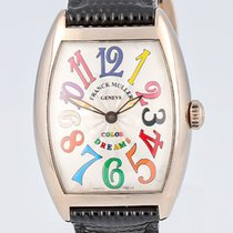 Franck Muller Color Dreams White gold 29mm Silver Arabic numerals