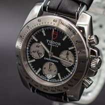Tudor Sport Chronograph Steel 41mm Black No numerals United States of America, New Jersey, Long Branch