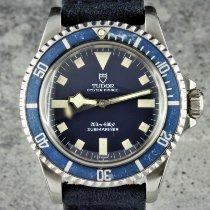 Tudor Submariner Сталь 40mm Синий Без цифр