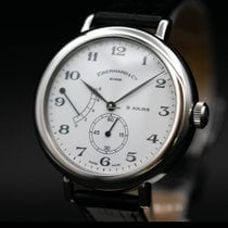 Eberhard & Co. pre-owned Manual winding 39mm White Sapphire crystal 3 ATM